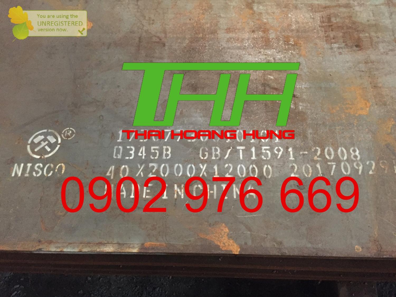 Thép tấm Q345A/ Q345B/ Q345C/ Q345D/ Q345E